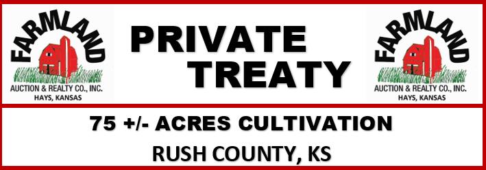 75 +/- Acres, Rush Co., KS